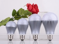 Free shipping 5630 high power and high brightness led bulb E27 5w, 7w,9w,12w, AC 100-240V 3years warranty CE & Rohs approval