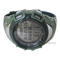 Sunroad FX704A  Army Green Digital Fishing Barometer 3ATM Waterproof Wrist Watch Thermometer Altimeter New Free Shipping