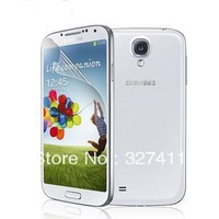 100pcs/lot Wholesale Clear Screen Protector For Samsung Galaxy S4 i9500 9500 Screen Protective Film Free Shipping