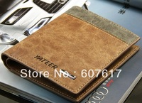 NEW arrive Genuine leather wallet  men's wallet  wholesale Free shipping