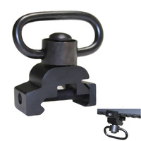 "7/8"" Picatinny Rail Sling Mounted Adapter W/ QD Quick Detach Swivel Push Button"