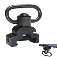 "7/8"" Picatinny Rail Sling Mounted Adapter W/ QD Quick Detach Swivel Push Button"