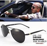 Hot  Vintage Men's Polarized Sunglasses High Quality Brand Driving Aviator Fashion Sunglasses Men Polarized With Original Box