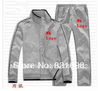 Fashion sports 2013 cotton man sports suit clothing set men brand spring clothes coat+pants 2pcs sets casual sports sweatshirt