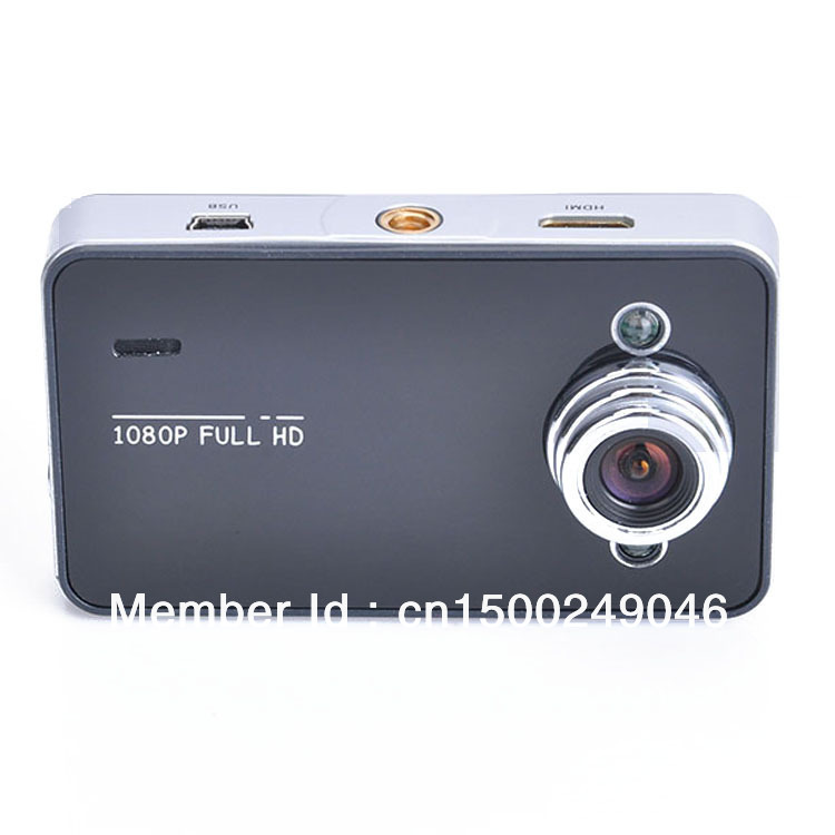 "New Full HD 1080p 2.7"" LCD Car Dash Camera Video Recorder IR Night Vision Camcorder Black(China (Mainland))"