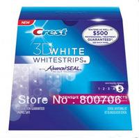 Free Shipping(1 box/lot)New Crest 3D White Whitestrips Intensive Professional Effects Dental Whitening Kit 14 strips/box!