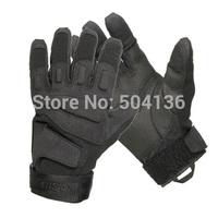 loveslf fashion safety blackhawk  full fingers leather gloves military gloves