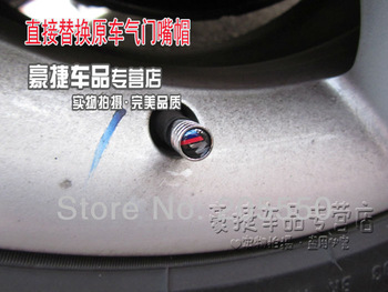Free shipping ! 4pcs/set car tire valve car valve cap car wheel valve hat  car logo valve  fit for  Cadilllac