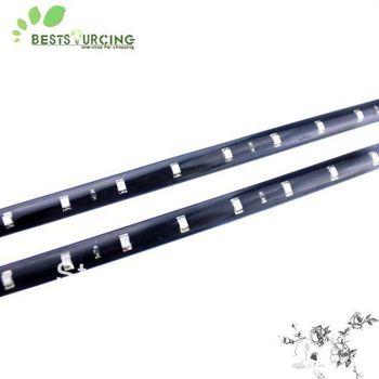Free  Shipping 10pcs/lot 30cm 15 SMD 3528 White / Red / Blue Color Waterproof Flexible LED Strip 30cm Length Car Strip