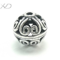 XD KM205/KM268 925 vintage sterling silver spacer beads wholesale pendant beads for jewelry making