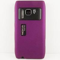 New Design Multiple Color Mesh Net Hard Rubber Case Coating Skin FOR NOKIA N8