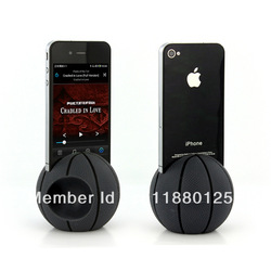 2013 hot iphone 4/4s basketball speaker hot new product(China (Mainland))