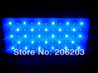 Free shipping new 120w 55*3w led aquarium dimmable light led light reef aquarium 10000K-20000K 27 White and 460nm 28 Blue
