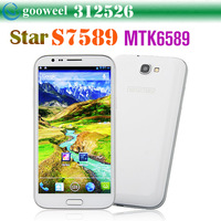 Star S7589 Smart Phone MTK6589 Quad Core 5.7 Inch HD Screen Android 4.1 1G RAM 5.0MP Front Camera
