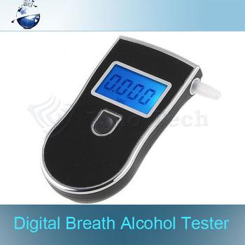 3pcs/lot, Professional Police Digital Display Breath Alcohol Tester battery the Breathalyzer Dropship Parking Car Detector
