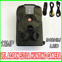 12MP LTL Acorn 5210A 940nm HD1080P Outdoors Waterproof IR Night Vision Digital hunting trial camera
