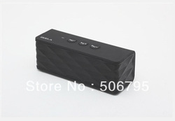New Arrival New Design HT-1051 Wireless black color Bluetooth speaker mini Speaker for tablet phone laptop free shipping(China (Mainland))