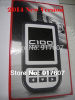 Free shipping 2014 original creator C100 OBD EOBD Auto scanner, OBDii code reader OBD2 Car diagnostic tool