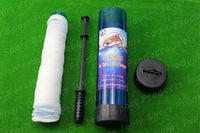 Free shipping Slow Solution 44MM 5M Carp Fishing PVA Mesh Net In Tube With Plunger Refill