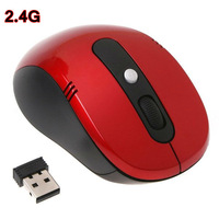 High quality Portable Optical Computer Peripherals Accessories  2.4Ghz  Wireless mouse USB receiver for Desktop & Laptop MS-02