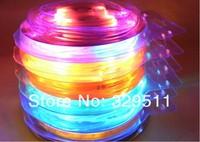 Free shipping 4th LED shoelace 200pcs/lot promotion Flashing light up glowing shoelace Blister packing