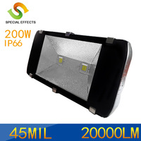 LED Flood Light 200W(2x100W),AC85~265V, Cool White Warm White,  Waterproof IP67,Outdoor Lighting,Street Light,Tunnel Lamp