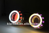 New HID projector and angel eyes for cars with high quality and competitive price