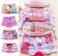 Wholesale MIX DESIGNS/bag children girl underwear,kids underwear for girl,girl's underwear,children's underwear,boxer short