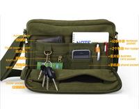 free shipping 2014 cotton men canvas bag men's singles IPAD bag Korean version casual female  shoulder messenger bag