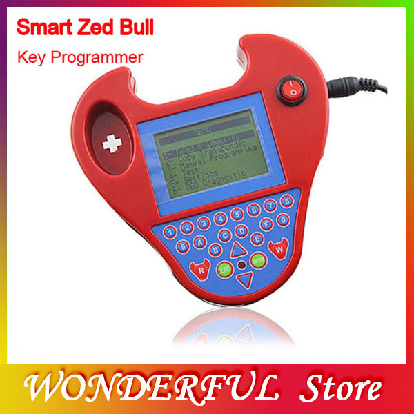 2013 Super Mini Type Smart Zed-Bull Auto Key Transponder Mini ZED BULL Latest Functional Mini Version Zedbull Pro(China (Mainland))