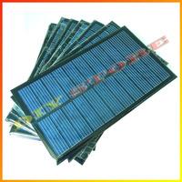 10pcs/lot 6V 270mA 1.6W mini solar panels small solar power 3.6v battery charge solar led light solar cell -10000548