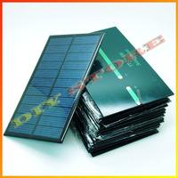 20pcs/lot 6V 270mA 1.6W mini solar panels small solar power 3.6v battery charge solar led light solar cell -10000548