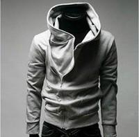 2014NEWFree shipping High Collar Men's Jacket Top Brand ,Men's Dust Coat Hoodies Clothes M ~XXXL#5198
