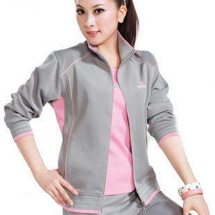 2015 women tracksuits free shipping new size is plus long-sleeve women's sportswear set sports suits with short sleeve shirt