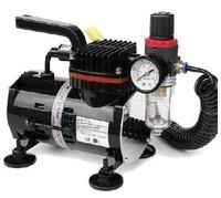 U-STAR Mini Air Compressor U-601, Black Color, with Filter, High-Performance, Oil-less & Quiet