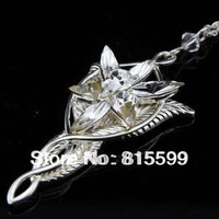 Sell retail ! Lord of the Rings Arwen evenstar pendant necklace /Arwen evenstar necklace Lord of the Rings LOTR