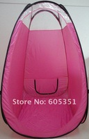 High Quality Fashion Pink Airbrush Spray Tan Tent 120*120*210cm--1pcs/lot --- Free Shipping