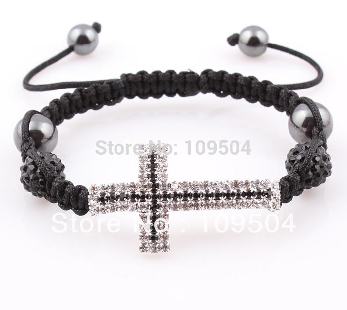 Браслет на шнурках Fashion Shamballa ZB012 800415 браслеты шамбала shamballa original в днеперопетровске