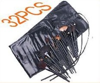 Free shipping 32 pcs Makeup Brushes Tools Set Cosmetic Facial