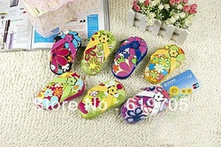 Free shipping by Fedex Flip Flop Four Pedicure Set Manicure Set Nail Set wedding baby shower favors Party gifts(China (Mainland))