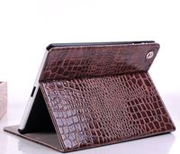 Fashion High Quality Slim Crocodile Leather Case for iPad Mini 1 2 3, Smart Cover for Apple iPad Mini 1/2/3 with Retina Display