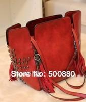 Fashion 2013 Vintage bag skull tassel bag messenger bag handbag women's