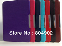 Smart Leather Case Cover for New Amazon Kindle Paperwhite 5 with magent closure free shipping