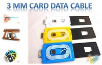 Free shipping Card data charging cable USB Data cable for iphone 4  for iphone 4s 2013 lastest design  COOL PRODUCT