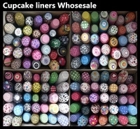 Wholesale 1000pcs Mixed Patterns Standard Size Baking Cups Cake Tool Bakery Decorations  Random Send Free Shipping