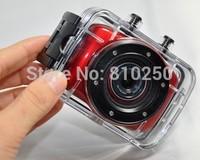 Free Shipping DV123 HD 720P Mini DV DVR Waterproof camera Outdoor Sports Helmet Camera Motorcycle Camera