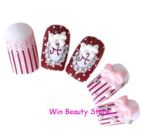 New Arrival Mix Color Sweet Princess False Nail Art Tips,Free Shipping