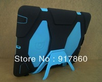 free shipping Extreme-Duty Military Survivor Defender Stand Clip Cover High Protector Protective for  iPad 3 /2