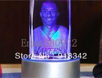 Wholesale! Souvenir Laser Engraving Crystal Carving Kobe Bryant L.A. Lakers Los Angeles Basketball