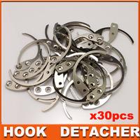 30Pcs/lot detacher Hook Key Detacher Of The EAS Hard Tag Remover eas hook detacher  EAS System